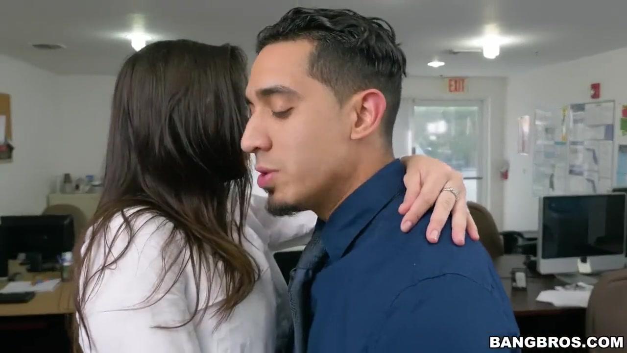 Sexy Brunette Office Fuck