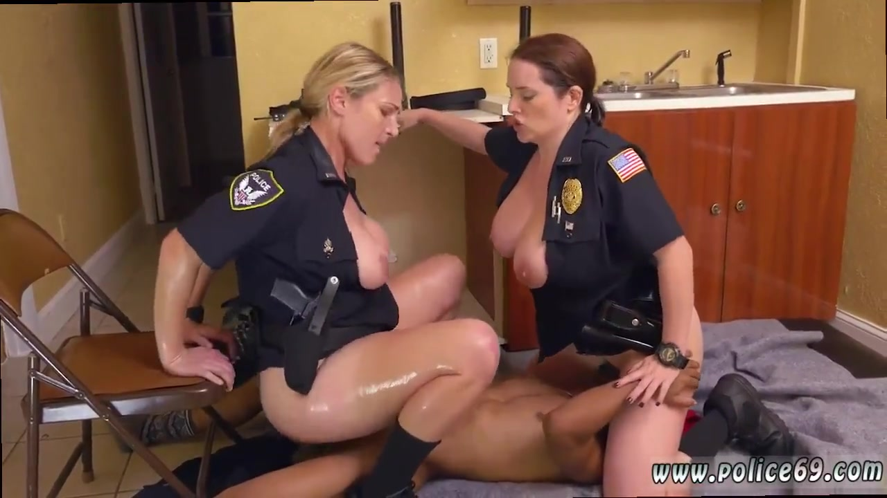 2 sexy cops first time agent has sex with